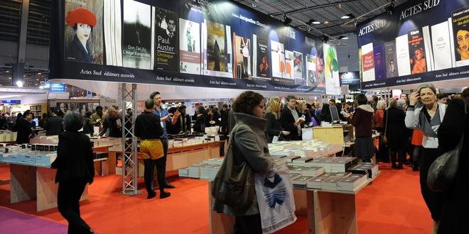 Inauguration du 33eme Salon du Livre de Paris 2013. Du 22 au 25 mars. Paris, Porte de Versailles, France.