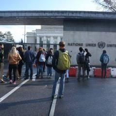 Au siège de l'ONU à Genève