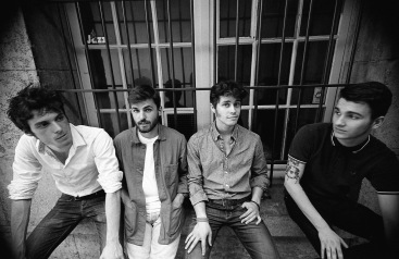 Quai d'Orsay, le groupe de rock. Photo : Martin Larat-Linit.